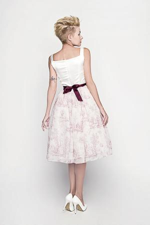 Kleiderfreuden, Brautmode online bestellen - Brautkleid im Dirndl Look ...