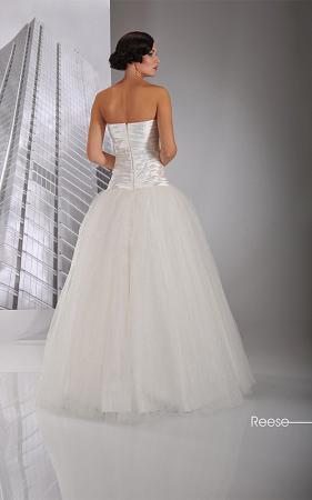 Romantisches Tüllbrautkleid Prinzessinnen Hochzeitskleid mit ...