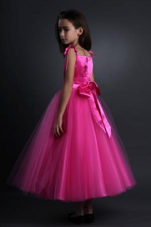 kleiderfreuden brautmode online bestellen blumenm dchenkleid rosa. Black Bedroom Furniture Sets. Home Design Ideas
