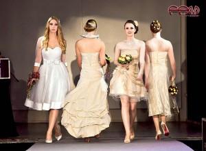 Standesamtkleider kurze Brautkleider