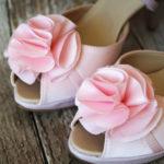 Highheels für die Braut in rosa