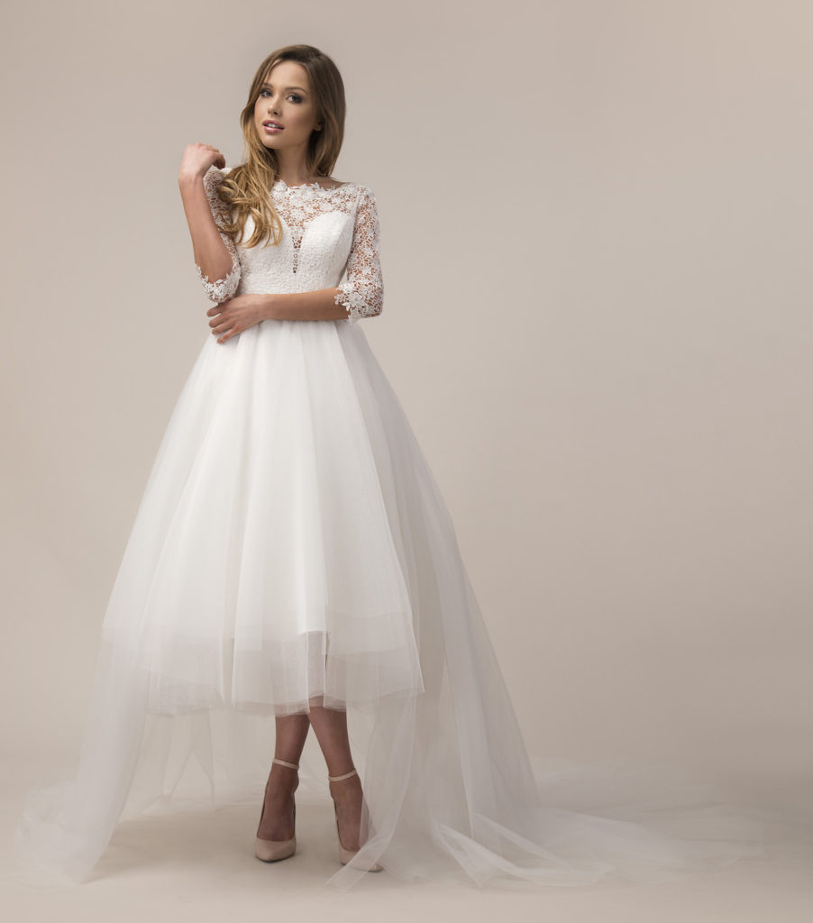 Vokuhila Brautmode online