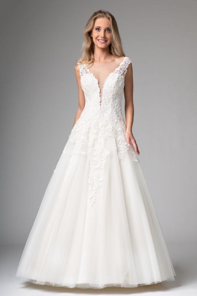 Weiße Brautkleider 2020