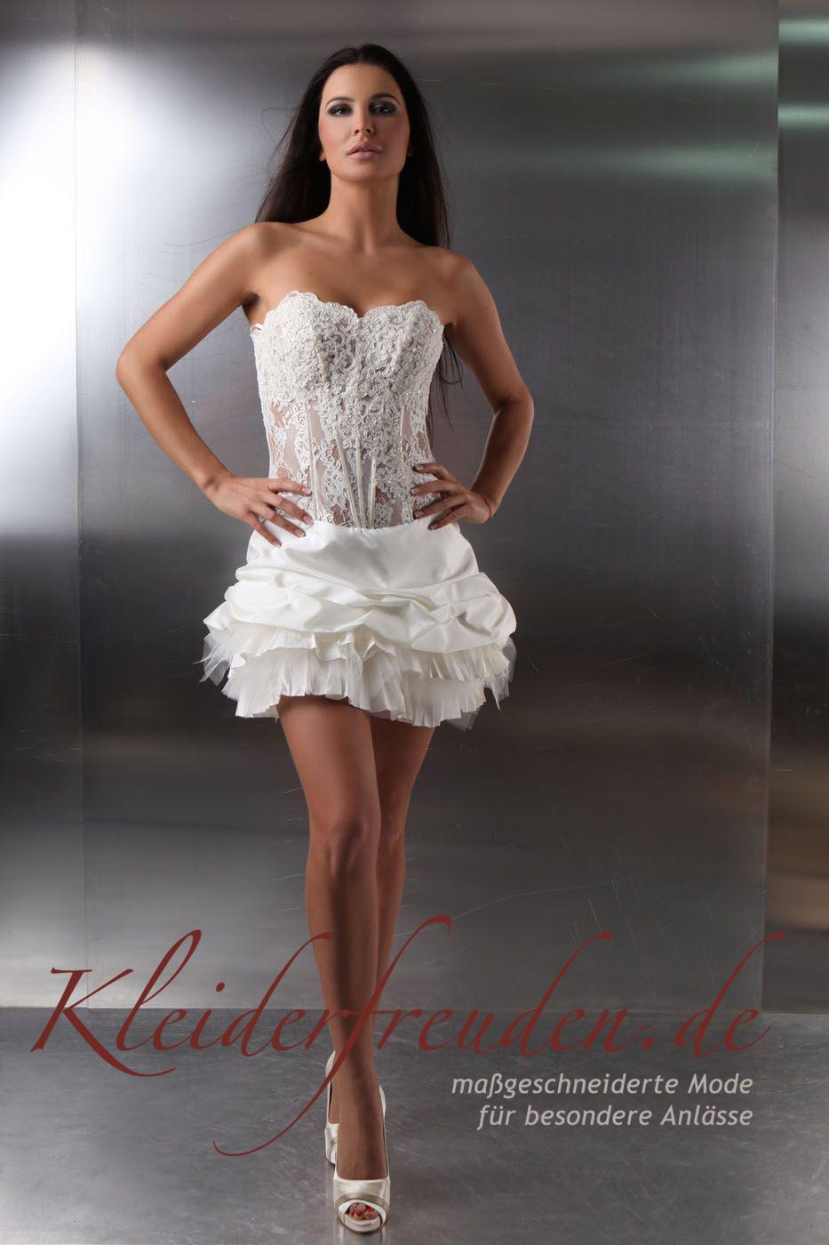 Die perfekten Standesamtkleider; Brautmode für das Standesamt ...