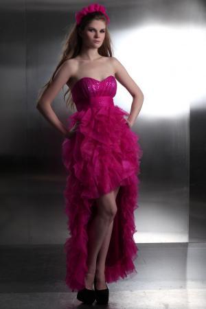 Kleider pink glitzer