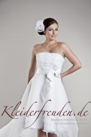 Brautkleider vorne kurz hinten lang; Trendig & schick - Kleiderfreuden