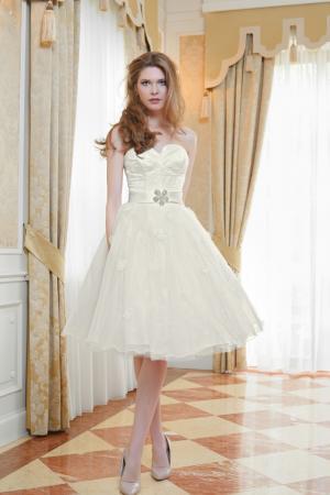 Standesamtkleid Brautkleid kurz aus Spitze Maßanfertigung