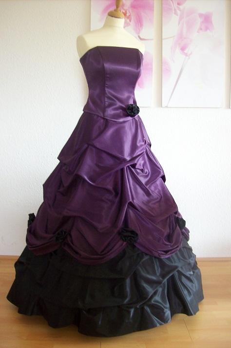 Brautkleid Hochzeitskleid in lila & rosa - Kleiderfreuden