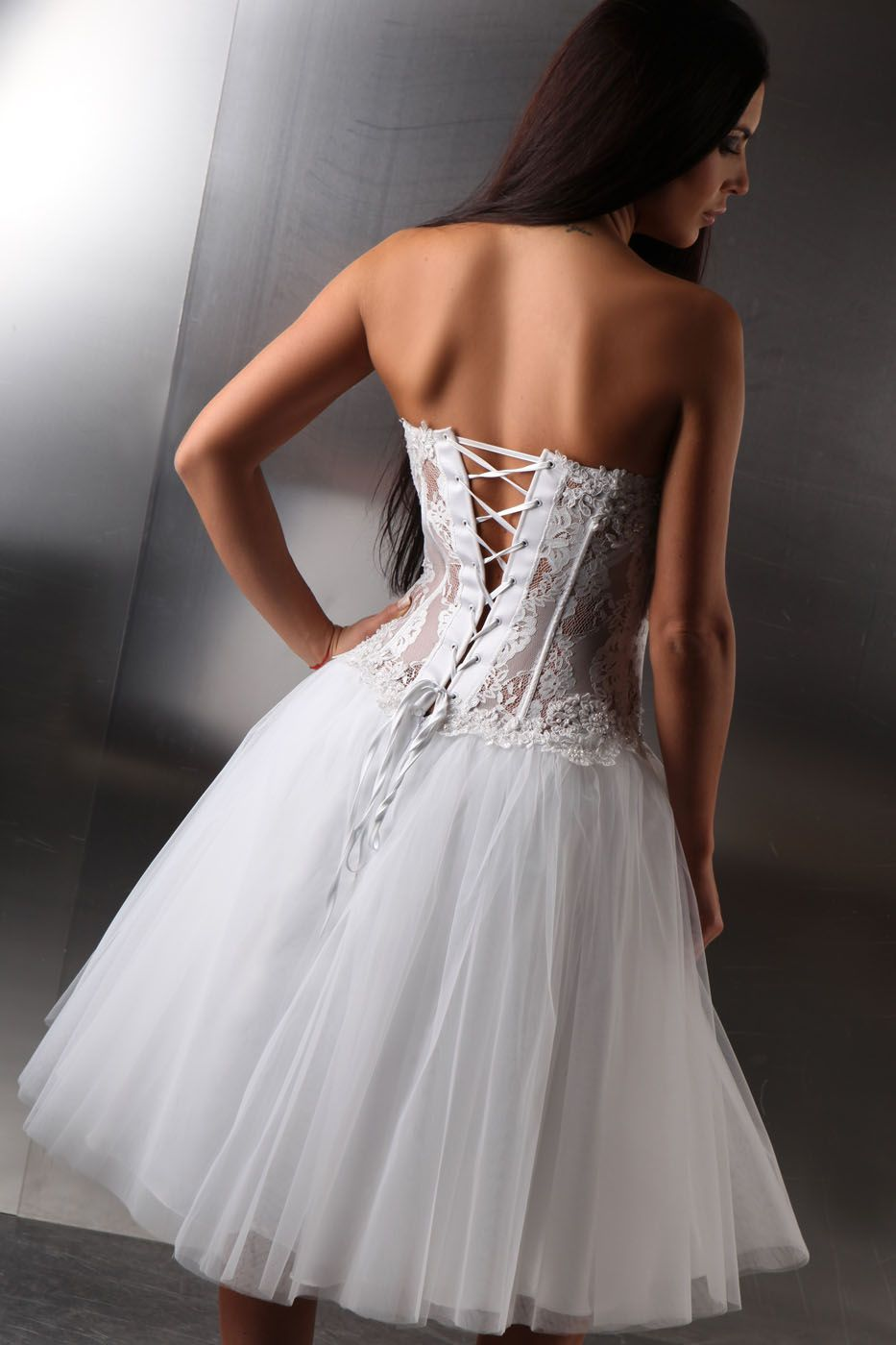 petticoat brautkleid t llrock 50er jahre brautmode standesamt kleiderfreuden. Black Bedroom Furniture Sets. Home Design Ideas
