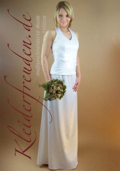 Schlicht kleid brautkleid standesamt Schlichte Brautkleider