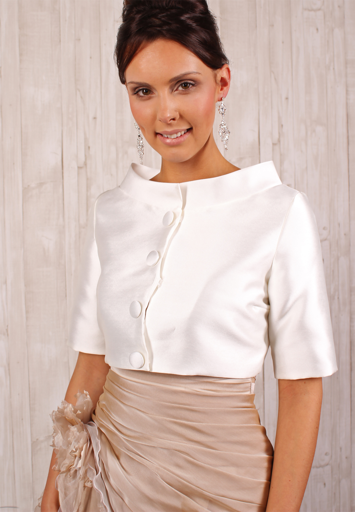 Kleid mit jacke 60er jahre