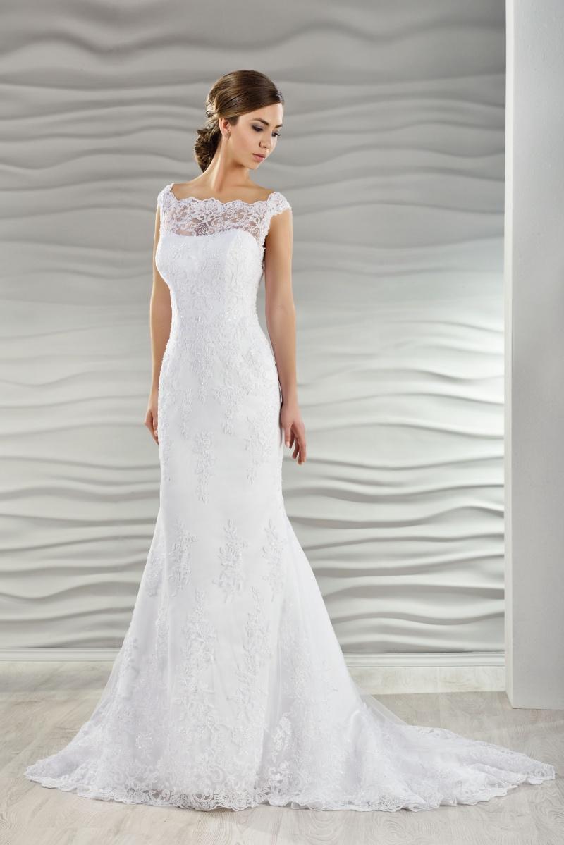 Brautkleid schmal aus Spitze - Kleiderfreuden