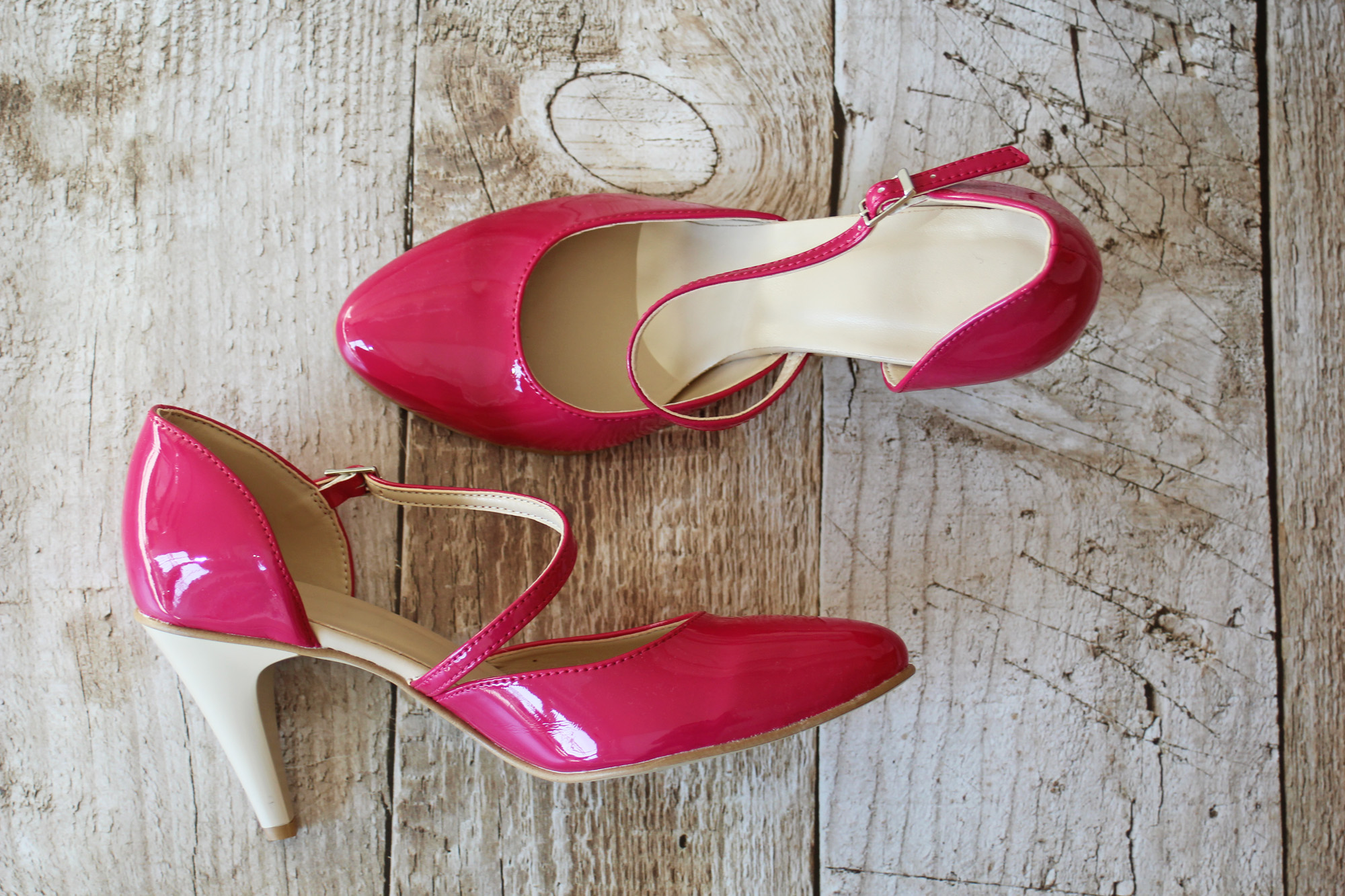 new product 4773e feaa1 Brautschuhe in Pink Fuchsia hoher Absatz andere Farben ...