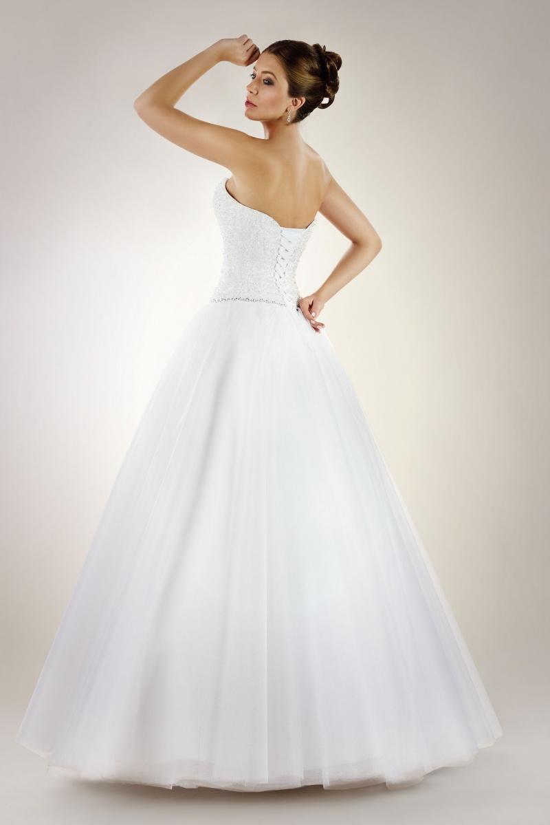 Brautkleid mit Perlen Korsage und schönem Tüllrock - Kleiderfreuden