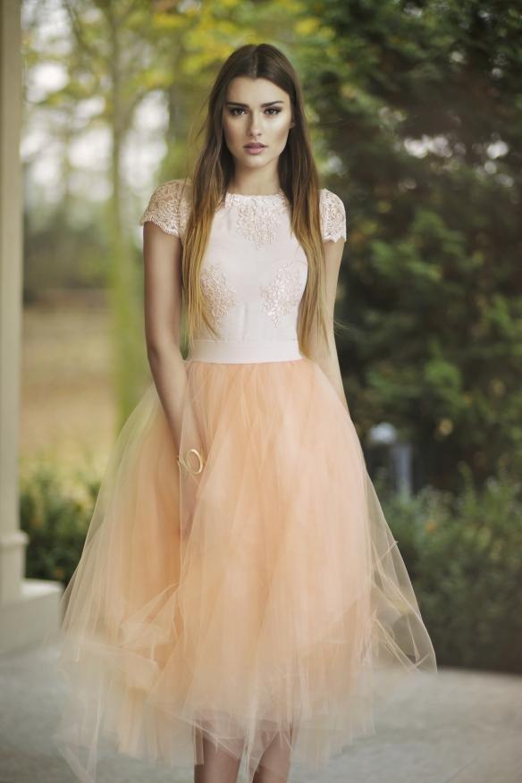 Brautkleid Fur Das Standesamt Mit Tullrock Kleiderfreuden