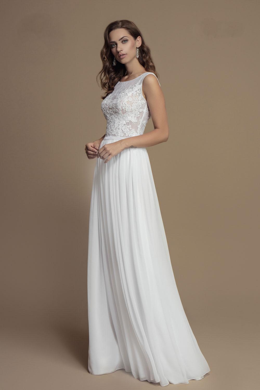 Brautkleid aus Vintage Spitze lang - Kleiderfreuden