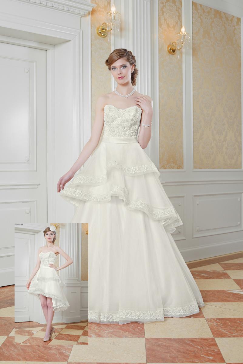 Hochzeitskleid mit abnehmbaren Rock - Kleiderfreuden