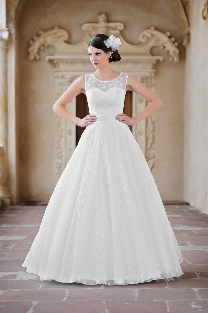 Brautkleid mit Punkten - Kleiderfreuden