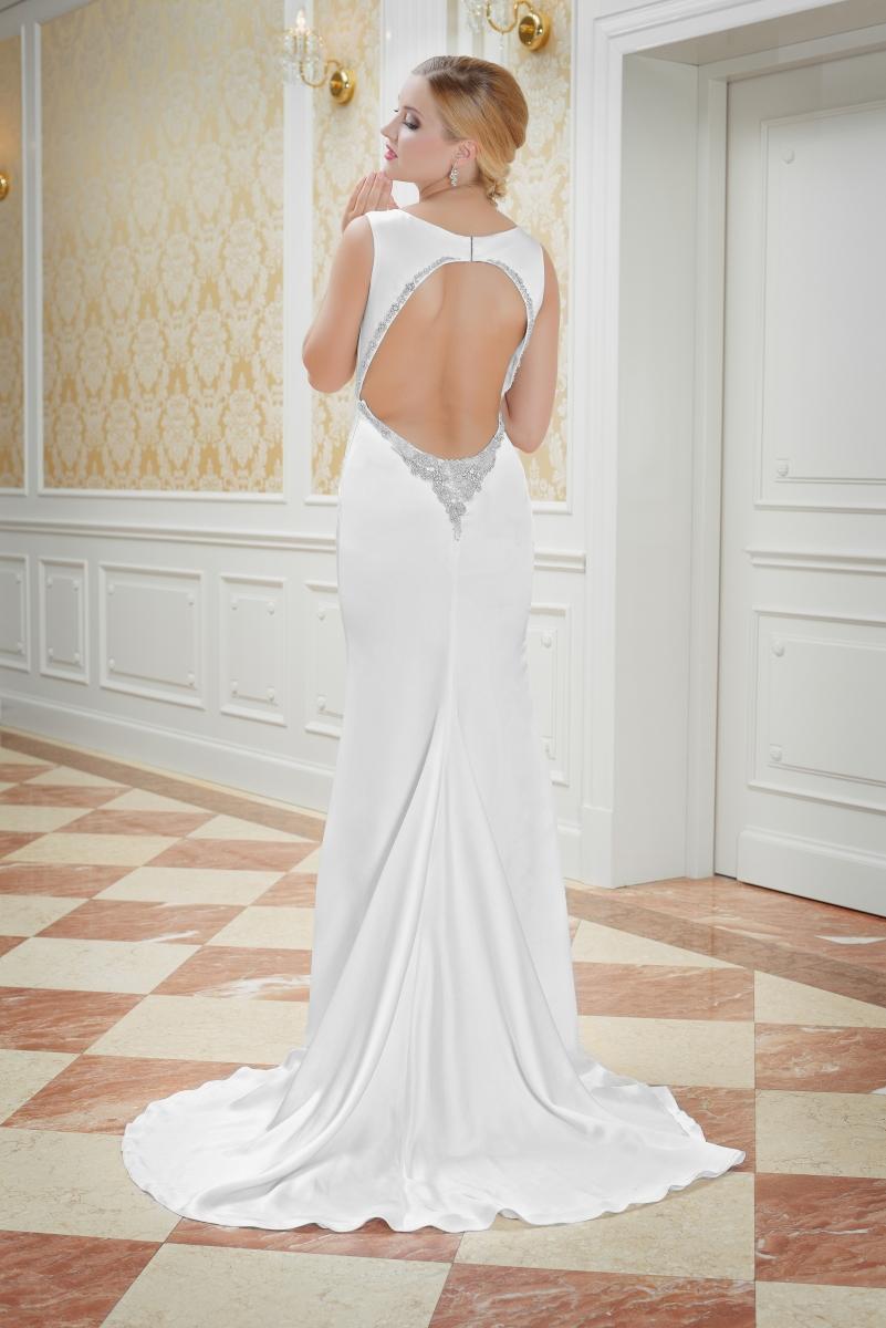Brautkleid mit tiefem Rückenausschnitt - Kleiderfreuden