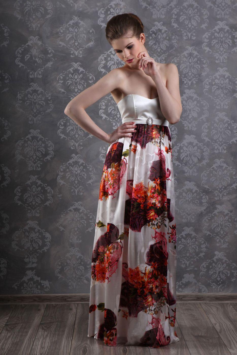 Sommerliches Abendkleid luftig und leicht - Kleiderfreuden