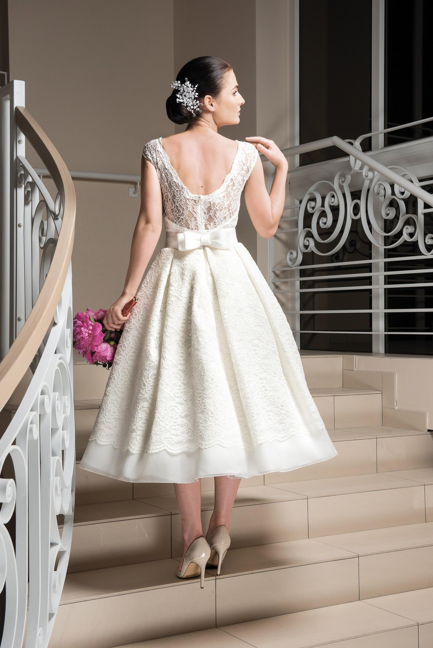 15er Jahre Brautkleid aus schönster Spitze - Kleiderfreuden