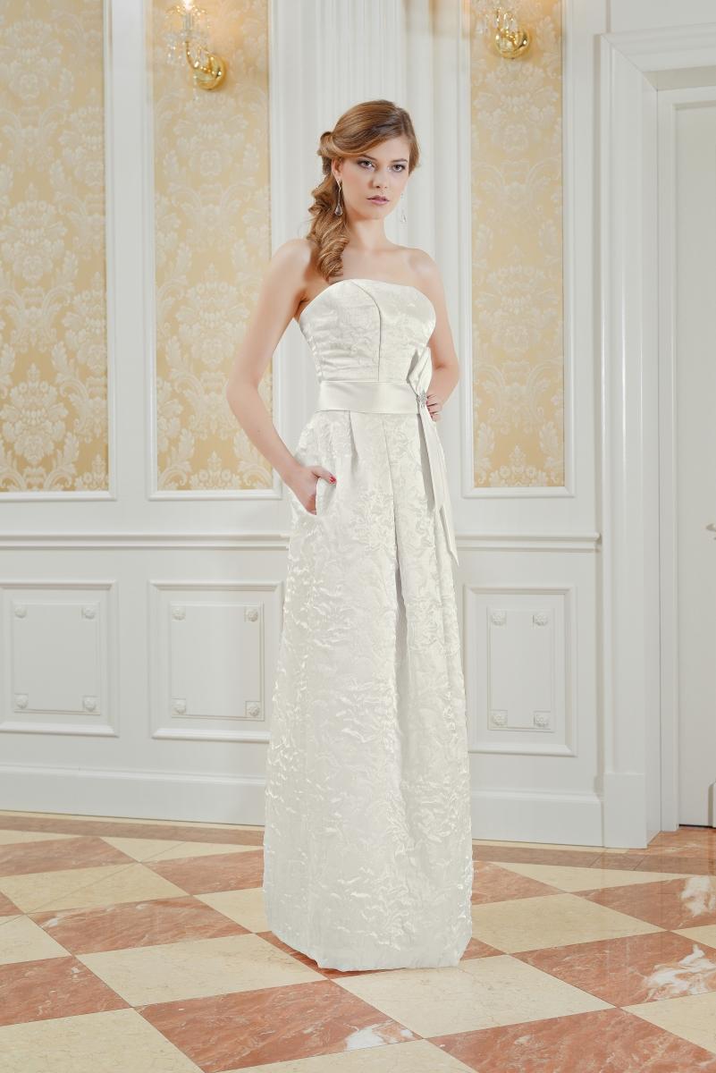 Etui Brautkleid mit breitem Gürtel Maßanfertigung - Kleiderfreuden