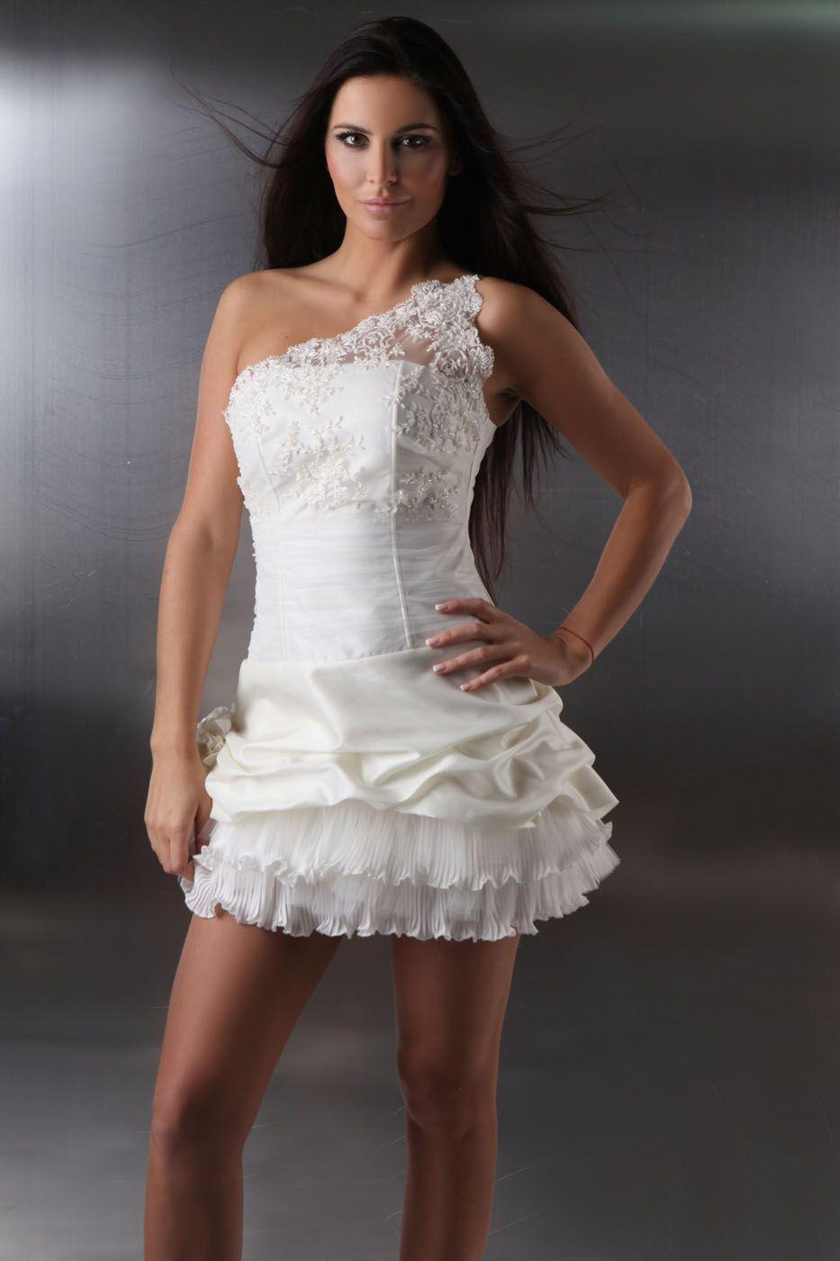 Mini Brautkleid sexy - Kleiderfreuden