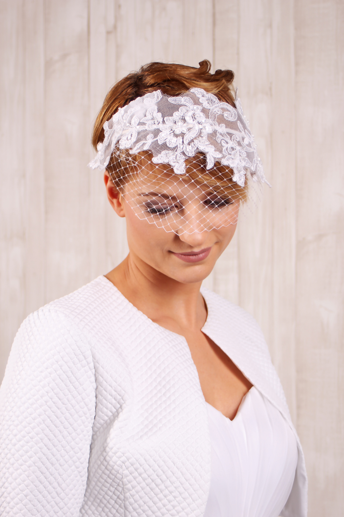 Vintage Braut Haarschmuck Fascinator Haarreif Für Die Braut Spitze