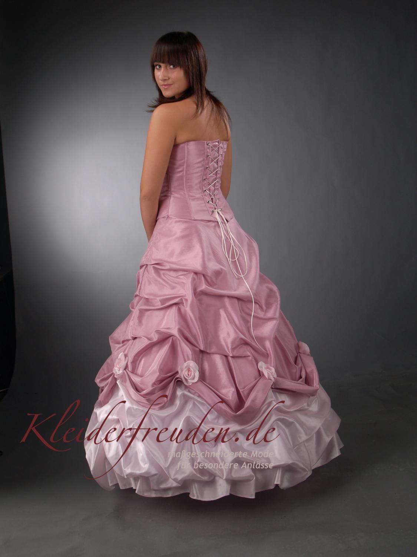 brautkleid hochzeitskleid in lila rosa kleiderfreuden. Black Bedroom Furniture Sets. Home Design Ideas