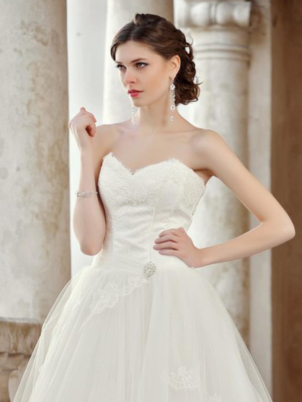 Brautkleid mit abnehmbaren Rock Maßanfertigung - Kleiderfreuden