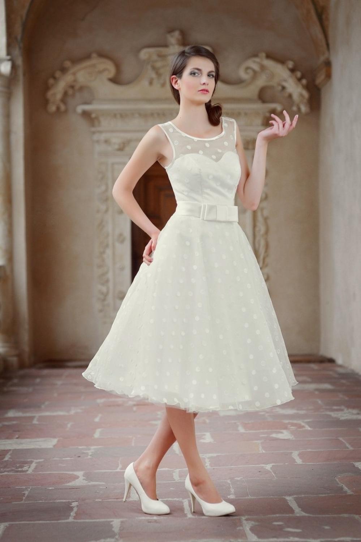 50er Jahre Hochzeitskleid