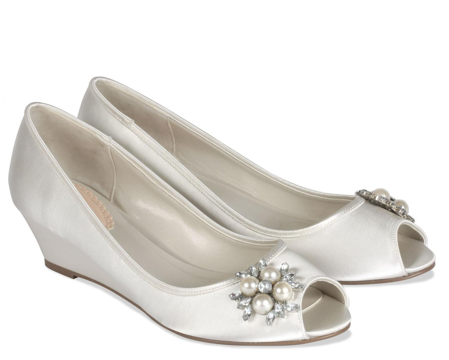 Comfy Wide Fit Wedding Shoes