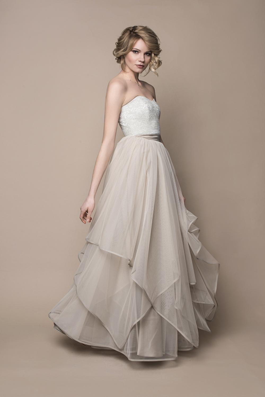 Boho Brautkleid im Vintage Look - Kleiderfreuden