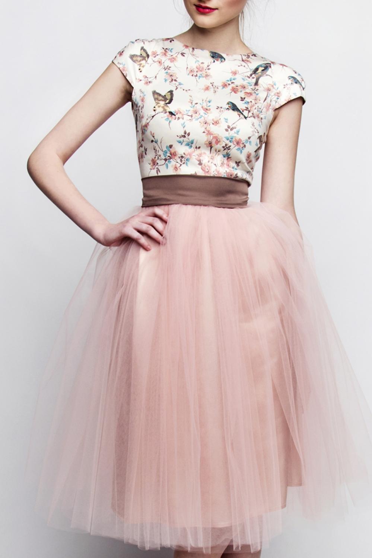 standesamtkleid braun rosa kleiderfreuden. Black Bedroom Furniture Sets. Home Design Ideas