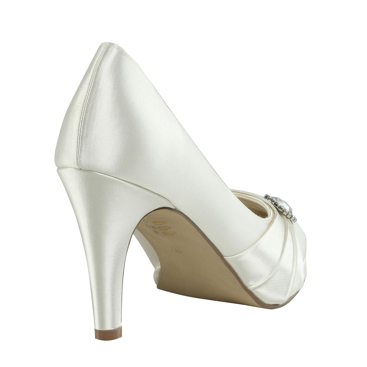 Brautschuh strawberry ivory