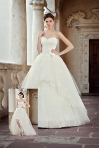 Brautkleider Mit Abnehmbaren Röcken Und Schleppen Kleiderfreuden