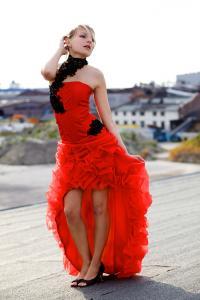 Kleider vorne kurz hinten lang mit wow effekt kleiderfreuden - Rotes brautkleid kurz ...