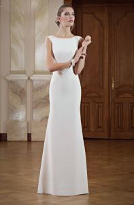 Brautkleid Schlicht Und Elegant | Schmale Brautkleider Elegant Klassisch Jetzt Online Kleiderfreuden